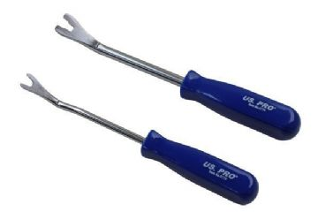 US PRO 2pc Trim Clip Popper Tool Set 6779